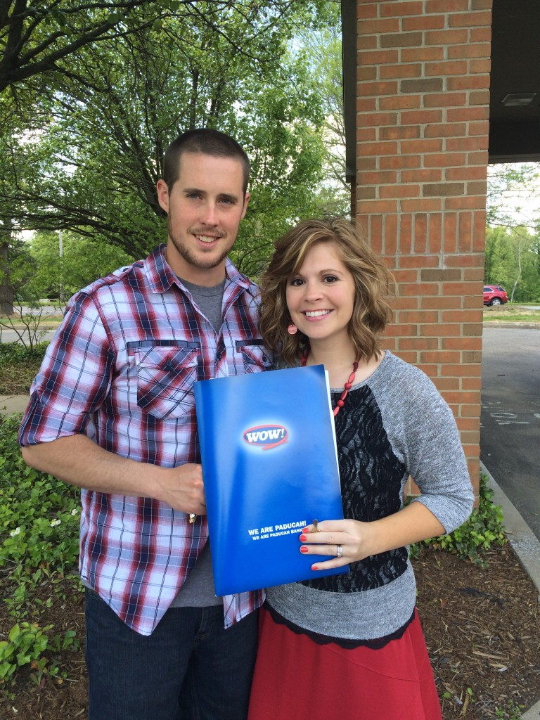 Couple Buys 1st Home with Paducah Bank USDA Loan!