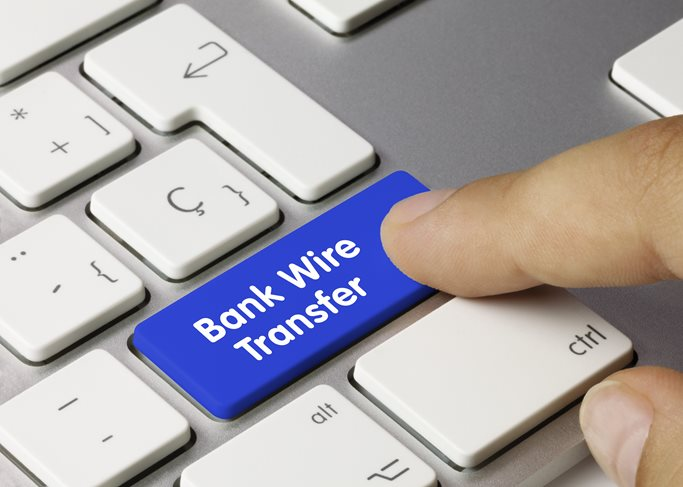 Bank Wire Transfer Graphic